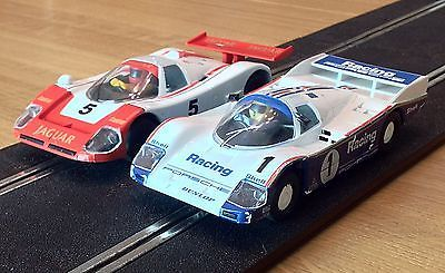 Scalextric Classic Cars - Jaguar XJR9 and Porsche 962C https://t.co/5VvJL9jbql https://t.co/g91qi2wUFV