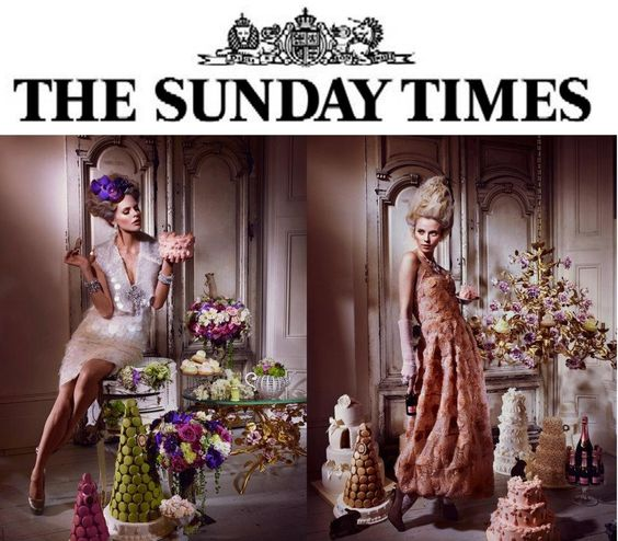 """VILLARI for the magazine """"The sunday times"""" in december 2011"""