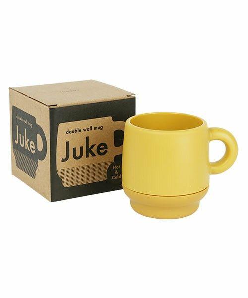 George's KITCHEN(ジョージズ キッチン)のJUKE ダブルウォールマグ(グラス/マグカップ/タンブラー)|マスタード
