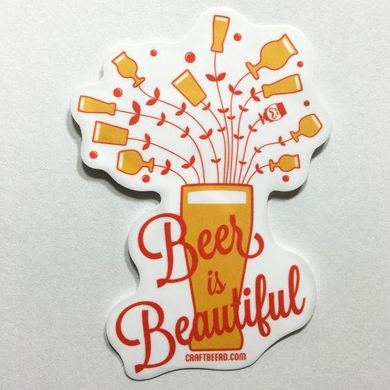 STICKERS - Craft Beer T-Shirts, Beer Art and Beer Gifts   CRAFT BEERD ® - 6