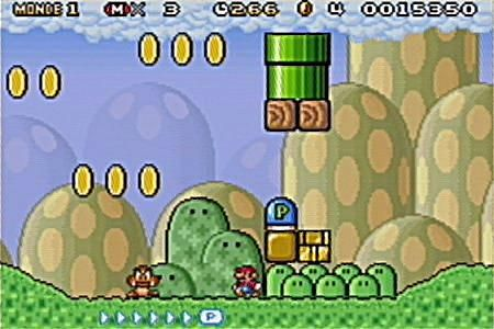 Super Mario Advance 4 : Super Mario Bros. 3 - GBA