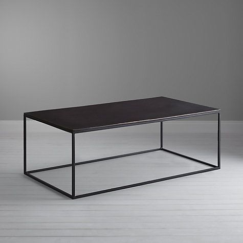 Charmant Black Rectangle Coffee Table The