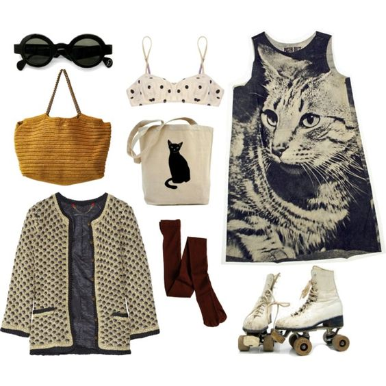 Meow! (awesome outfit from Ashley)