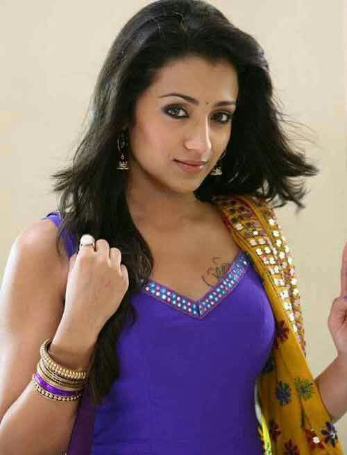 r u guys seeing only tattoo trisha krishnan global