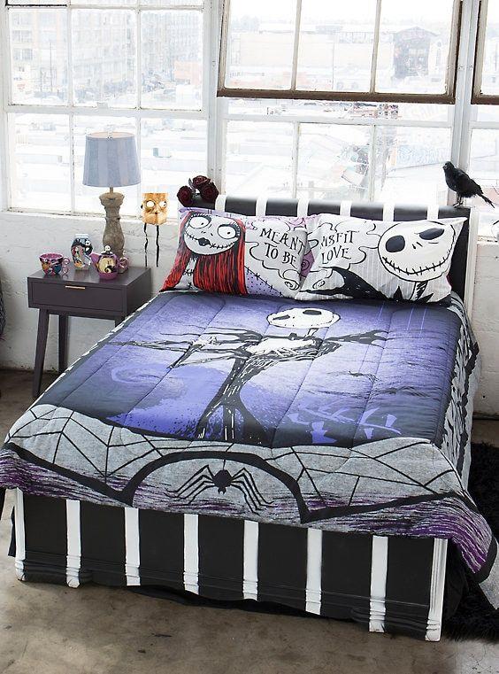 The Nightmare Before Christmas Bedding Set Nightmare Before Christmas Bedding Christmas Bedding Set Christmas Bedroom