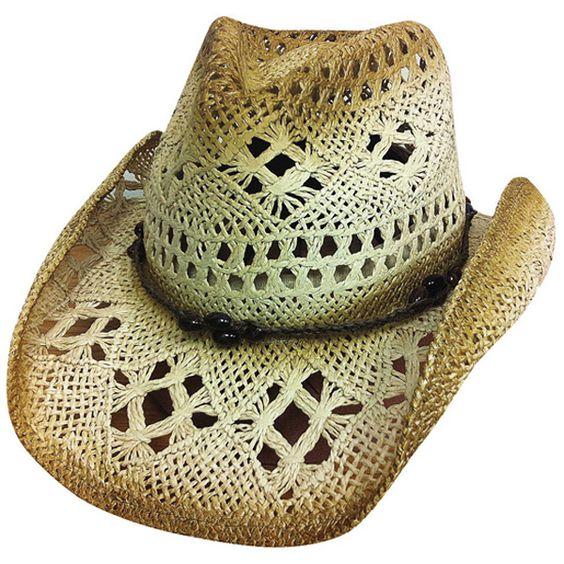 Scorched - Straw Cowboy Hat $25.98