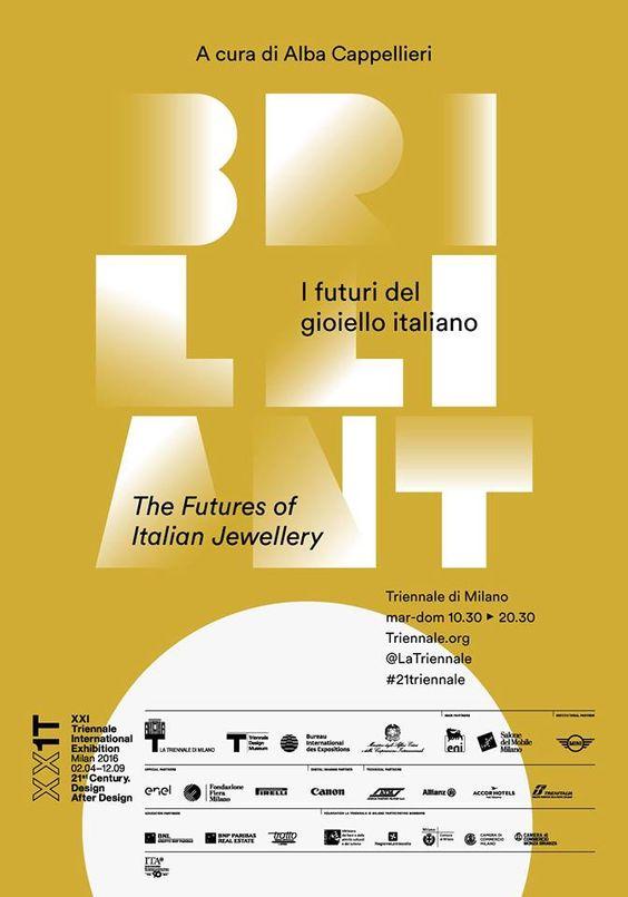 BRILLIANT! il gioiello ritorna tra le arti alla XXI Triennale Internazionale!