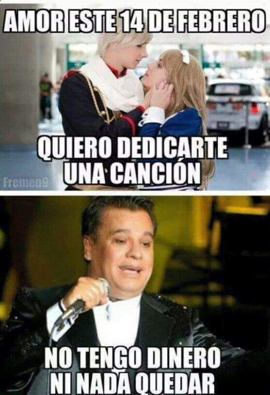 Cancion De Amor Memes Espanol Graciosos Memes De San Valentin Memes Chistosisimos