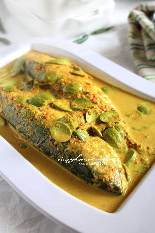 Masak Lemak Cili Padi Ikan Kembung Sama Petai Singgahsana Kitchen Resep Ikan Resep Makanan Resep