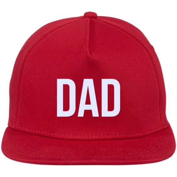 DAD | New Era® Flat Bill Stretch Cap
