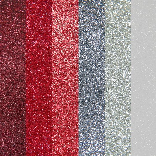 6 Valentine Colors Of Glitter Heat Transfer Vinyl Bundle 20 X12 Sheets Glitter Heat Transfer Vinyl Silhouette Diy Projects Silhouette Diy