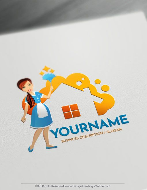 Online Bubble Free Cleaning Logo Maker Housekeeping Logo Template Cleaning Logo Cleaning Company Logo Housekeeping Logo