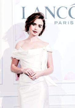 Lily Collins attends Lancome Miracle Gala Dinner in Taiwan, Nov. 21