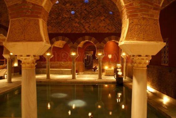 Baños arabes en Cordoba, España
