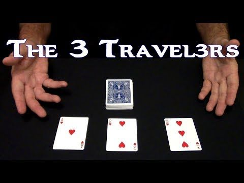 The 3 Travelers Card Magic An In Depth Tutorial Youtube