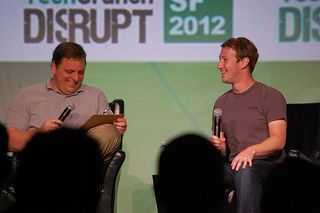 Mark Zuckerberg TechCrunch Disrupt SF 2012 Interview