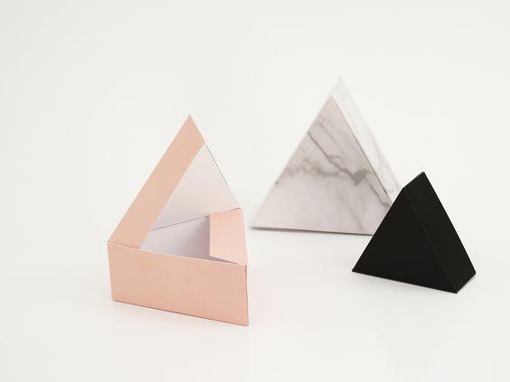 schöne Dreiecks-Boxen
