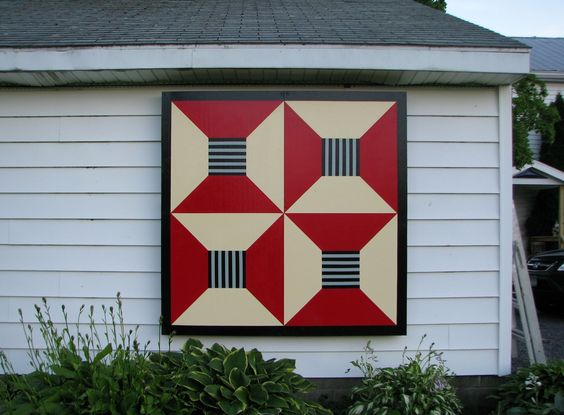 ,  BARN QUILT INSTRUCTIONS  by John Elberfeld, co-founder of Helderberg Quilt…: