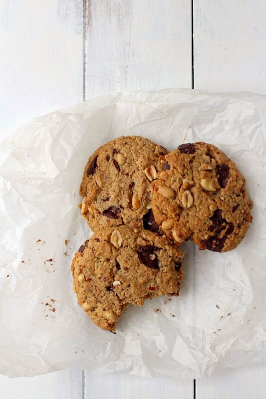Milk and Honey: Giant Salted Chocolate and Peanut Cookies