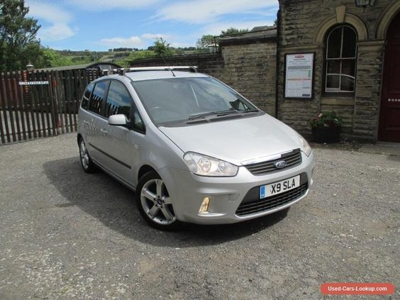 Car For Sale 2008 08 Ford C Max 1 8i Zetec 5dr Manual Mpv Silver