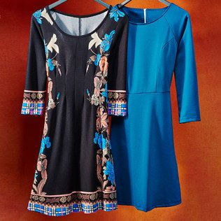 Popular Marineblu Coral Embroidered Peasant Dress  Women  Zulily