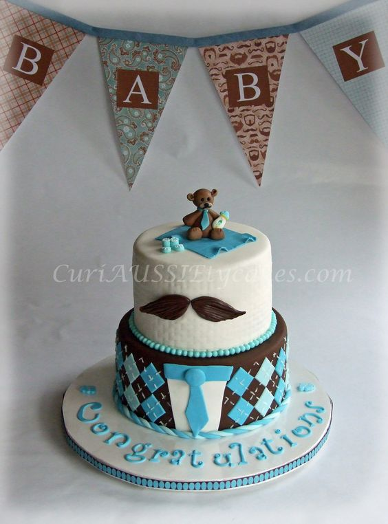 baby shower cake mustache theme parties baby shower cakes baby shower
