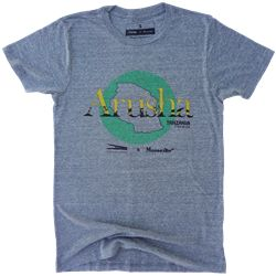 For this t-shirt, WCL has partnered with Moosejaw Mountaineering AGAIN to create a limited edition collar tee with a cause. When you purchase this t-shirt, WCL will give a new t-shirt to a child in need in Arusha, Tanzania. #WCL #WorldClothesLine #Tanzania #OneForOne