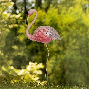 Garden Stake Flamingo