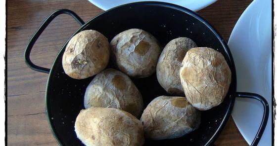Eisbein,Seezunge & Co: Runzelkartoffeln - Papas Arrugadas