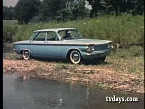 Chevrolet introduces the Corvair in this vintage TV commercial.