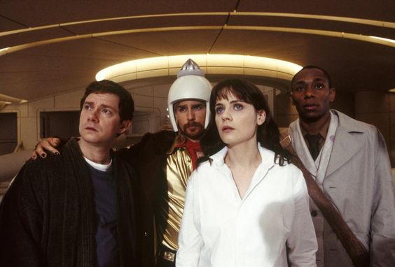 The Hitchhikers Guide to the Galaxy-Awesome.
