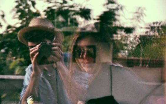 The travellers - my best friend, Clara & myself