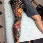 Back Of Leg Tattoos