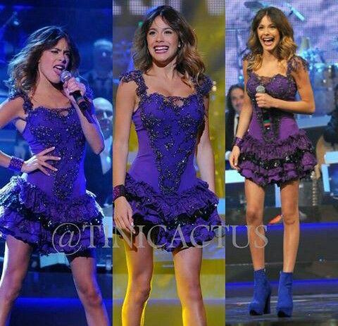 Violetta en vivo- Fashionhajar