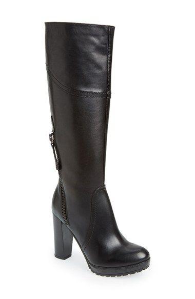 Summit by White Mountain 'Erie' European Fit Lug Boot (Women) Black Size 37 EU on Vein - getVein.com