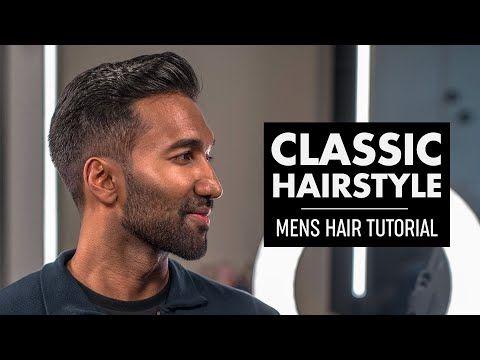Classic Quiff Haircut For Men 2019 Youtube Peinados De Hombre Peinados Maquillaje De Ojos