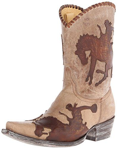 Yippee Kay Yay by Old Gringo Women's Cowboy Up Western Boot, Bone ...