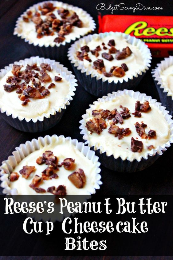 15 Top Christmas Treat Recipes Peanut butter cup cheesecake