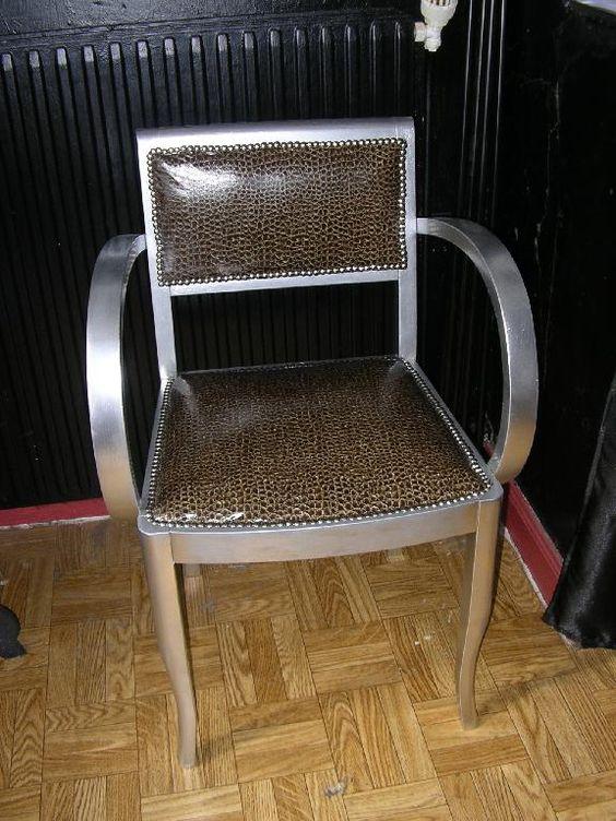 silver id es relooking fauteuil bridge pinterest photos et argent. Black Bedroom Furniture Sets. Home Design Ideas