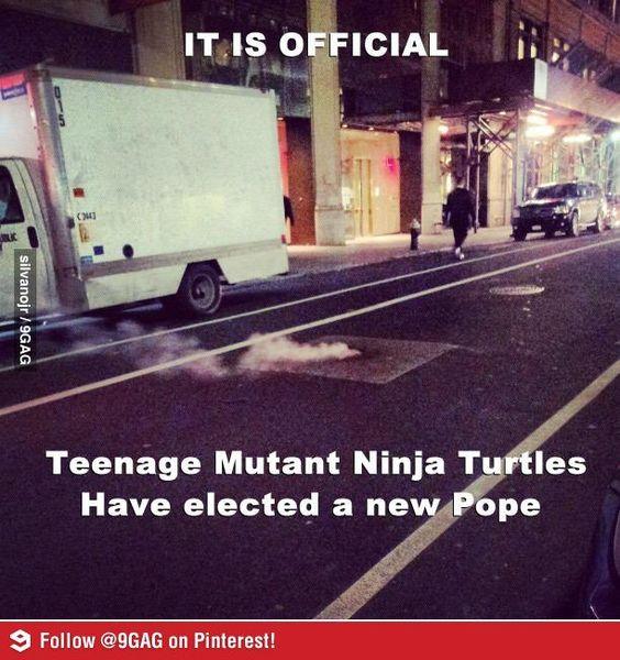 A Tininindzsa Teknőcök új pápát választottak