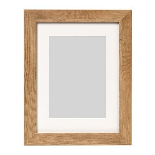 Dalskarr Frame Wood Effect Light Brown Wood Effect Light Brown 12x16 Oak Picture Frames Frames On Wall Photo Frame Wall