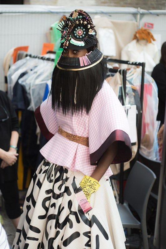 Central Saint Martins BA Fashion 2015   Dazed