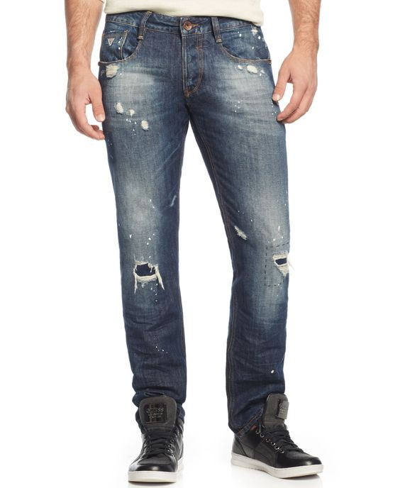 Guess Slim-Straight Mosquite Jeans