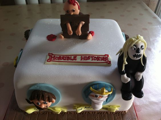Horrible Histories Cake Ideas
