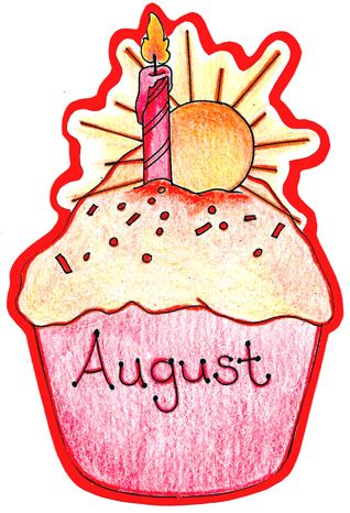 August Birthday Clip Art | Created with care by Mrs ...