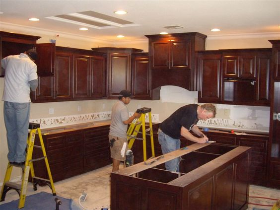 How To Install Kitchen Cabinets | Kitchen and Pantry | Pinterest ...