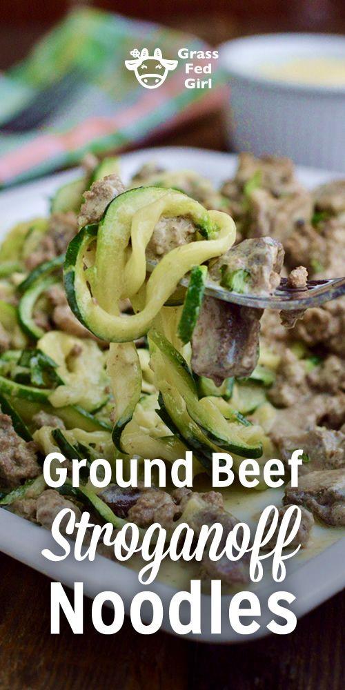 Keto Ground Beef Stroganoff Noodles Ground Beef Stroganoff Beef Stroganoff Beef Recipes For Dinner