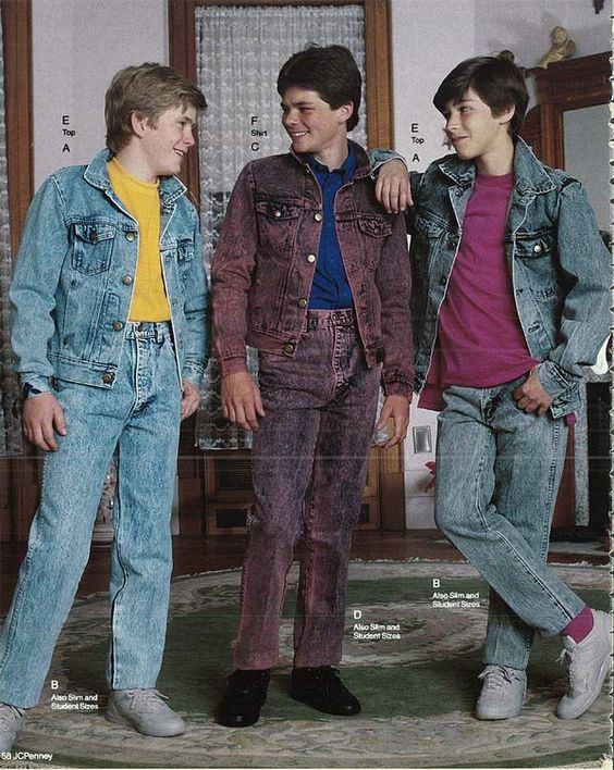 1980s Fashion For Men Boys 80s Fashion Trends Photos And More Wit Pinterest Mystery