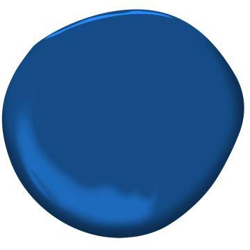Dark Royal Blue 2065-20 | Benjamin Moore; match for Lapis Blue