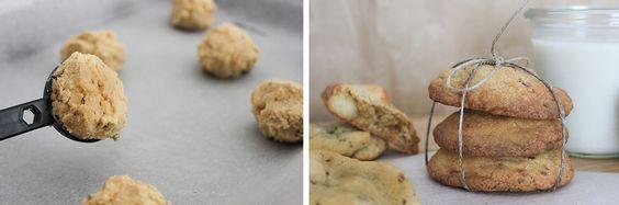 """""""Chewy"""" und soft: Die absolut besten Macadamia Cookies mit weißer Schokolade, Vanille und Zitronenschale #backen #cookies #macadamia #schokolade #kekse #foodfotography"""